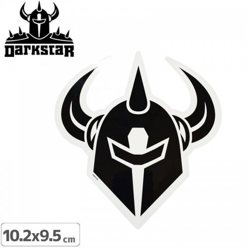 【DARK STAR ダークスター ステッカー】LOCKUP SKATE STICKER【10.2cm x 9.5cm】NO53