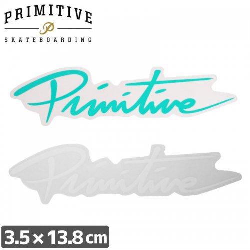 【プリミティブ PRIMITIVE スケボー ステッカー】SCRIPT LOGO【3.5cm×13.8cm】NO21