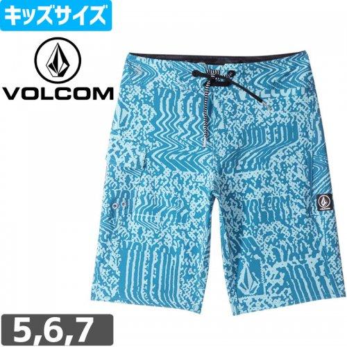 【VOLCOM ボルコム キッズ ボードショーツ】LOGO PLASM MOD LY 水着【ユースサイズ】NO32