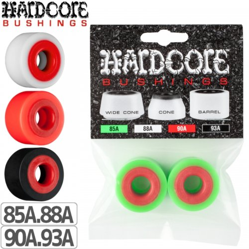 【HARD CORE BONES ボーンズ スケボー ブッシュ】HARD CORE BARREL BUSHING【85A】【88A】【90A】NO1