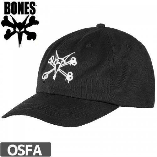 1週間SALE!【BONES ボーンズ スケボー キャップ】PROFILER HAT【ブラック】NO16