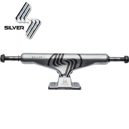 【シルバー SILVER スケボー トラック】M-CLASS HOLLOW RAW【8.0】【8.25】NO14