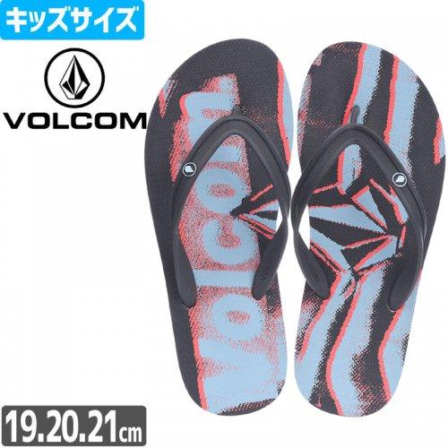 【VOLCOM ボルコム キッズ サンダル】YOUTH ROCKER 2 SANDAL【ビーチサンダル】NO3