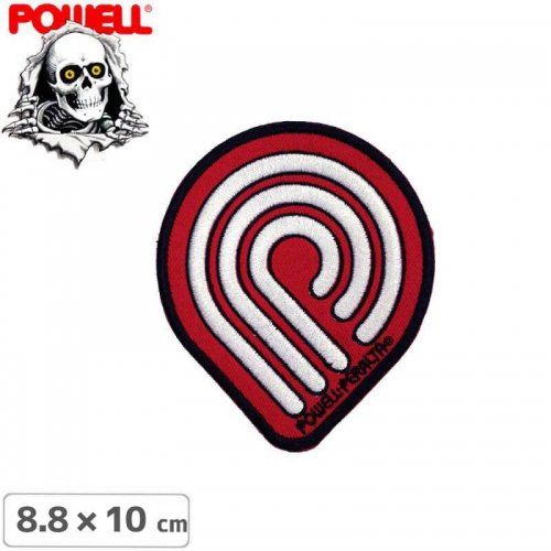 【パウエル POWELL スケボー ワッペン】PATCH PP WINGED RIPPER【8.8cm x 10cm】NO10