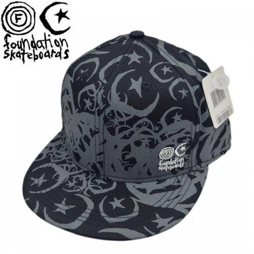 【ファンデーション FOUNDATION スケボー キャップ】INFEST FITTED CAP【2カラー】NO01