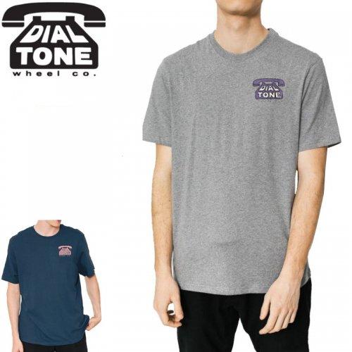 【ダイアルトーン DIAL TONE WHEELS スケボー Tシャツ】DIAL TEE【2カラー】NO1