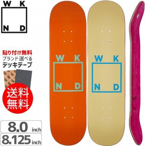 【ウィークエンド WKND スケボー デッキ】WKND LOGO DECK[8.0インチ][8.1インチ]NO16