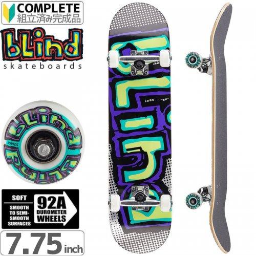 【ブラインド BLIND スケートボード コンプリート】MATTE OG LOGO COMPLETE 92A[7.75インチ]NO110