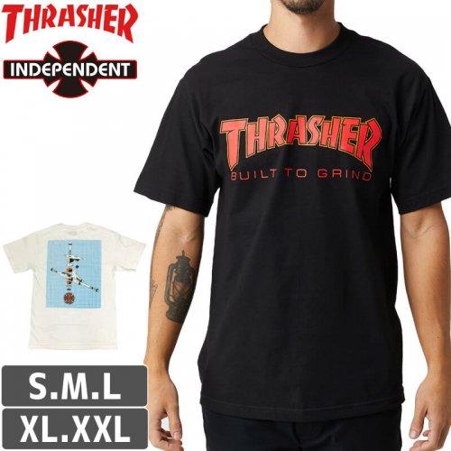 【インディペンデント スラッシャー Tシャツ】INDEPENDENT X THRASHER BTG T-SHIRT【2カラー】NO160