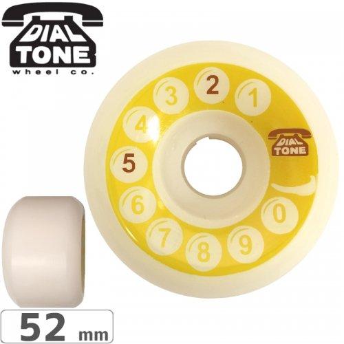 【ダイアルトーン DIAL TONE WHEELS スケボー ウィール】ROTARY CLASSIC CONICAL WHEEL【101A】【52mm】 NO3