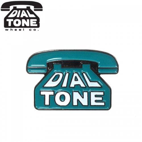 【ダイアルトーン DIAL TONE WHEELS ピンバッジ】OG LOGO ENAMEL PININ【2 x 1.5cm】 NO1