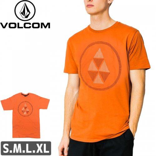 【VOLCOM ボルコム Tシャツ】BANNED S/S TEE【オレンジ】NO104