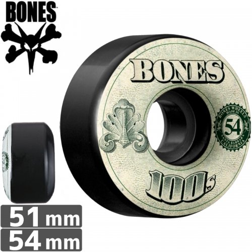 【ボーンズ BONES スケボーウィール】100's OG FORMULA #11 MONEY【V4】【51mm】【54mm】NO164