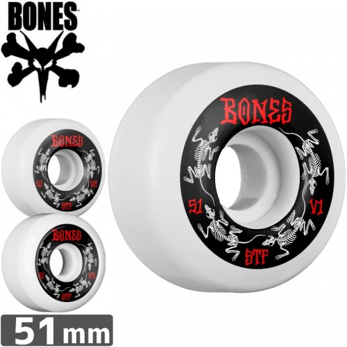 【ボーンズ BONES スケボーウィール】STF SERIES WHEEL【V1】【V2】【V5】【51mm】NO167