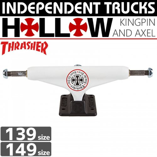 【INDEPENDENT スケボー トラック】INDEPENDENT x THRASHER OATH HOLLOW STAGE11【139】【149】【STANDARD】NO101