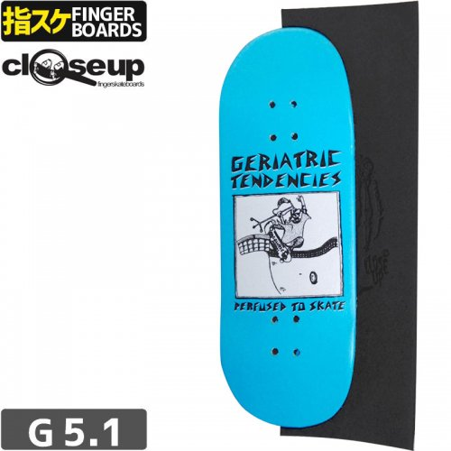 【クローズアップ フィンガーボード CLOSE UP FINGERBOARD】BOARD COLLAPSE SKATEBOARDS + RIPTAPE【33mm】NO14