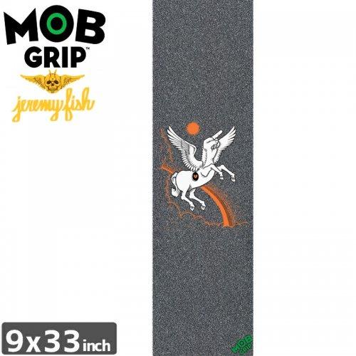 【モブグリップ MOB GRIP デッキテープ】JEREMY FISH F UNICORN GRIPTAPE【9 x 33】NO185