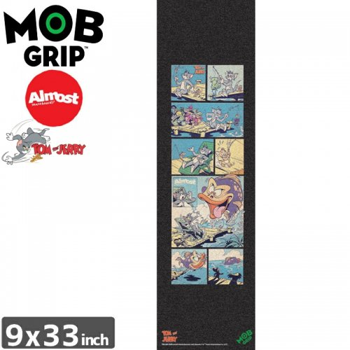 【モブグリップ MOB GRIP デッキテープ】ALMOST TOM & JERRY GRIPTAPE【9 x 33】NO187