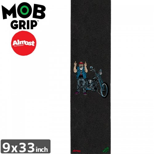 【モブグリップ MOB GRIP デッキテープ】ALMOST BIKER FINGER GRIPTAPE【9 x 33】NO188