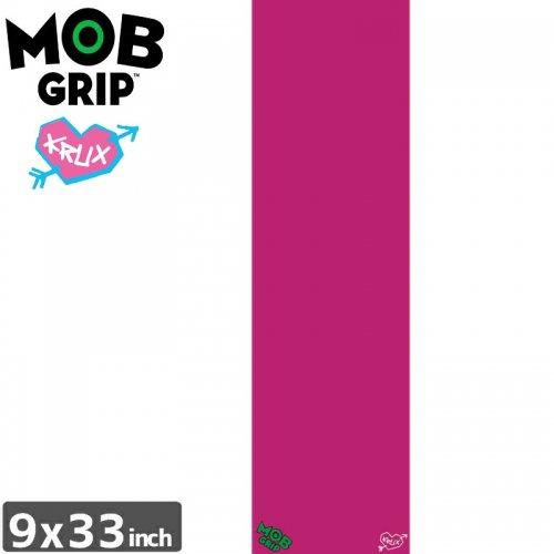 【モブグリップ MOB GRIP デッキテープ】KRUX PINK GRIPTAPE【9 x 33】NO190