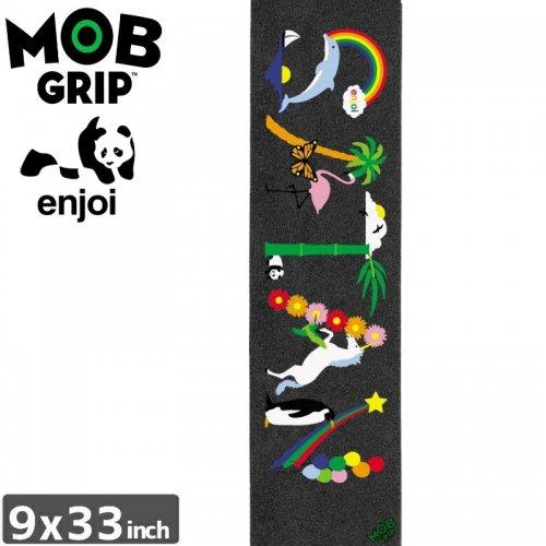 【モブグリップ MOB GRIP デッキテープ】ENJOI SATAN PRINTED GRIPTAPE【9 x 33】NO191