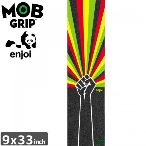 【モブグリップ MOB GRIP デッキテープ】ENJOI UPRISE GRIPTAPE【9 x 33】NO192