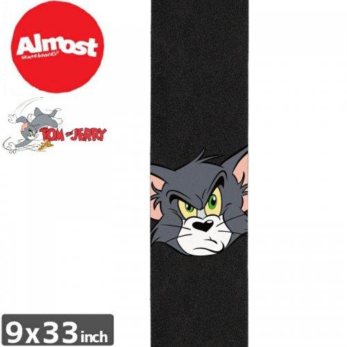 【オルモスト ALMOST スケボー デッキテープ】TOM FACE GRIPTAPE【9 x 33】NO8