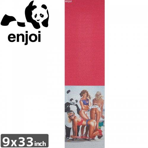 【ENJOI エンジョイ スケボー デッキテープ】SLICK CHICKS GRIPTAPE【9 x 33】NO8