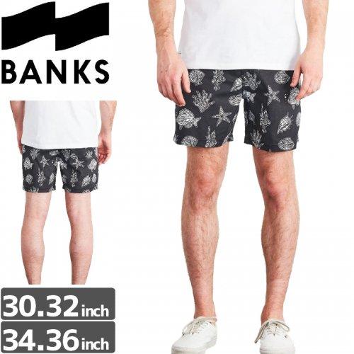 【BANKS JOURNAL バンクス パンツ ボードショーツ】SUBMERGE BOARDSHORT【ブラック】NO8