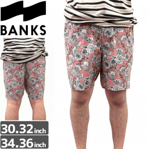【BANKS JOURNAL バンクス パンツ ボードショーツ】GOODTIME BOARDSHORT【ピンク】NO11