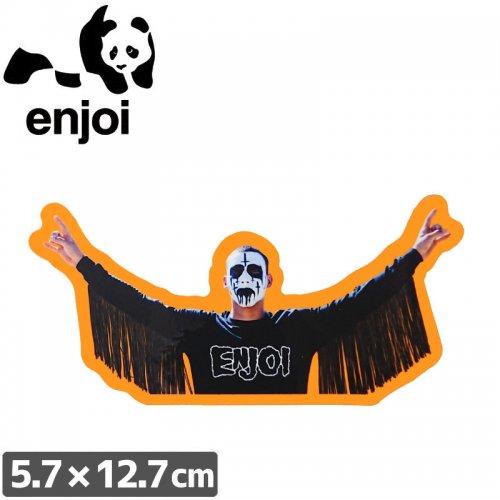 【ENJOI エンジョイ ステッカー】ENJ KOTR【5.7cm x 12.7cm】NO74