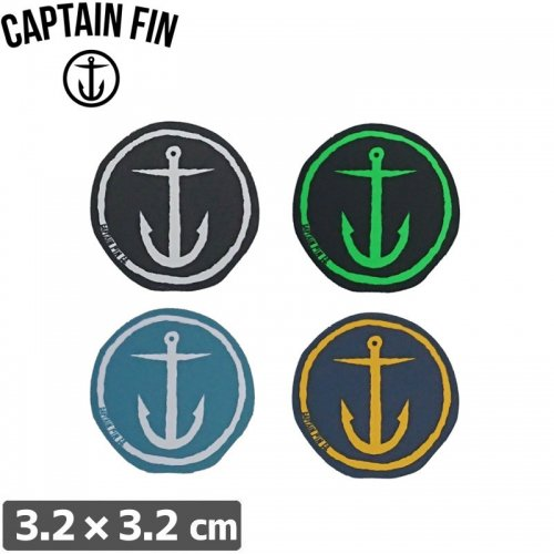 【CAPTAIN FIN キャプテンフィン】ORIGINAL ANCHOR【3.2cm × 3.2cm】NO1