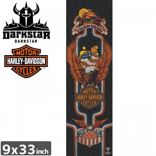 【ダークスター DARKSTAR スケボー デッキテープ】HARLEY DAVIDSON EAGLE GRIPTAPE【9 x 33】NO8
