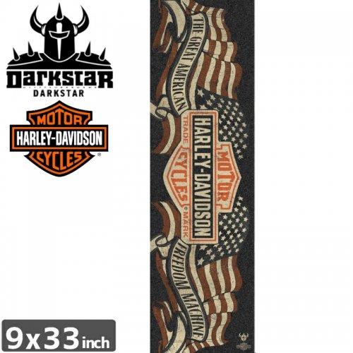 【ダークスター DARKSTAR スケボー デッキテープ】HARLEY DAVIDSON FREEDOM GRIPTAPE【9 x 33】NO9
