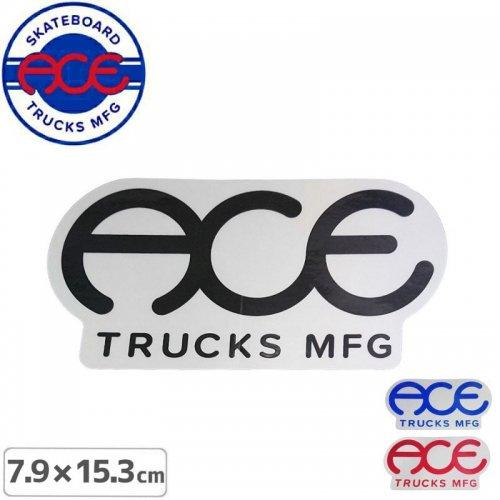 【ACE TRUCKS エース スケボー ステッカー】STANDARD LOGO【7.9cm × 15.3cm】NO10