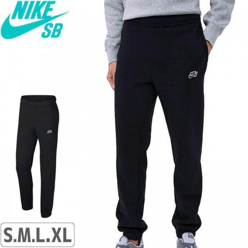 【ナイキエスビー スケボー パンツ】Men's Fleece Skate Pants Nike SB Icon【ブラック】NO17