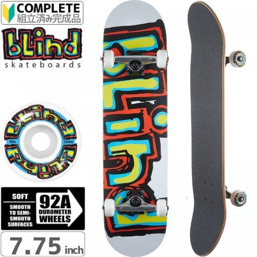 【ブラインド BLIND スケートボード コンプリート】MATTE OG LOGO FP COMPLETE 92A[7.75インチ]NO114