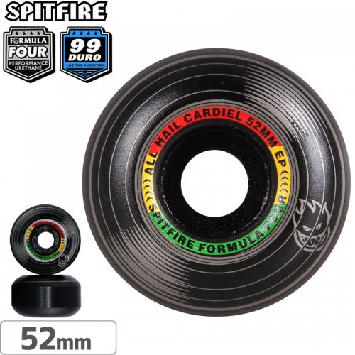 【SPITFIRE スピットファイアー ウィール】F4 FORMULA FOUR CARDIEL JUAN LOVE CLASSIC【99D】【52mm】NO233