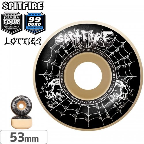 【SPITFIRE スピットファイアー ウィール】F4 FORMULA FOUR LOTTIES CLASSIC【99D】【53mm】NO243