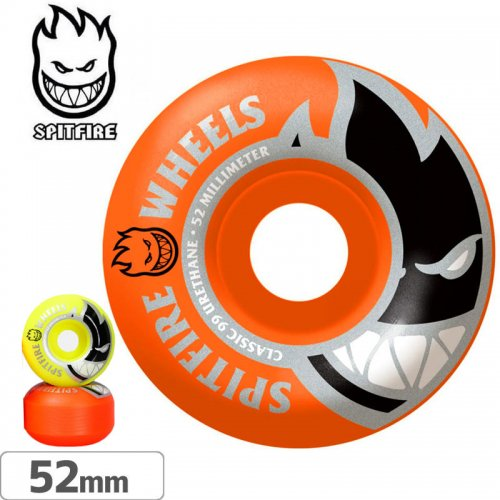 【SPITFIRE スピットファイアー ウィール】BIGHEAD MASHUP ORANGE/YELLOW【99D】【52mm】NO246