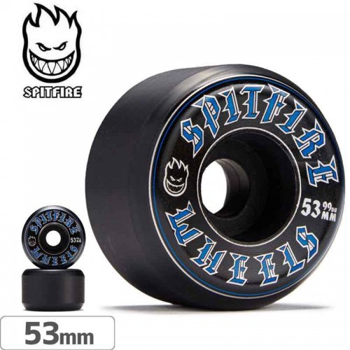 【SPITFIRE スピットファイアー ウィール】OLD ENGLISH CONICAL FULL BLACK【99D】【53mm】NO249