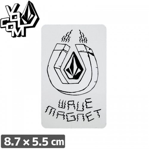 【ボルコム VOLCOM ステッカー】STICKER【8.7cm x 5.5cm】NO333