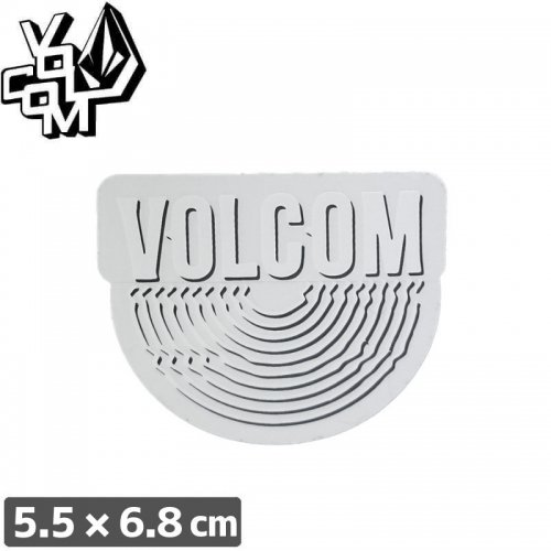 【ボルコム VOLCOM ステッカー】STICKER【5.5cm x 6.8cm】NO334