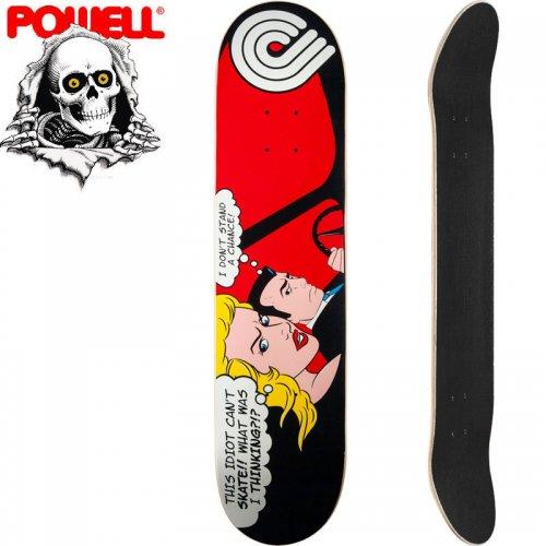 【パウエル POWELL スケートボード デッキ】POP ART SKATEBOARD DECK RED[7.625インチ]NO48