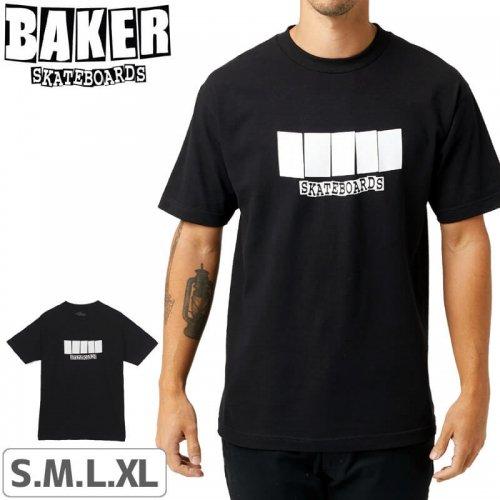 【BAKER ベーカー スケボー Tシャツ】COLOR CHANGE T-SHIRT【ブラック】NO63