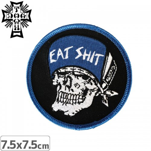 【DOG TOWN ドッグタウン ワッペン】SUICIDAL EAT SHIT PATCH NO1