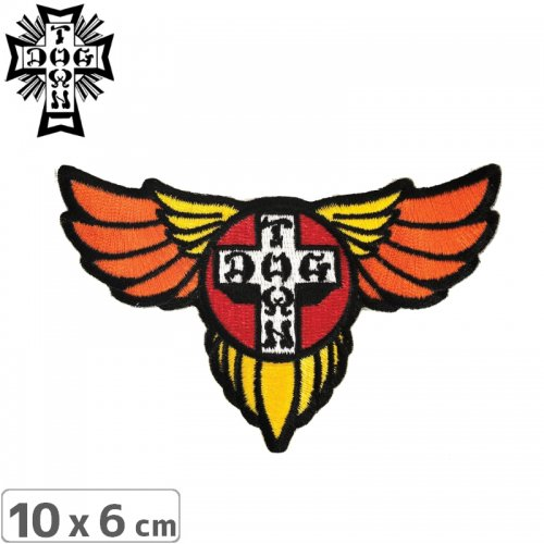 【DOG TOWN ドッグタウン ワッペン】EMBROIDERED PATCH WINGS NO4
