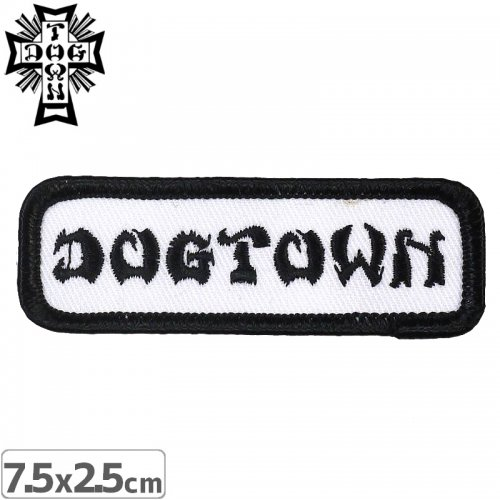 【DOG TOWN ドッグタウン ワッペン】WORK SHIRT PATCH NO7