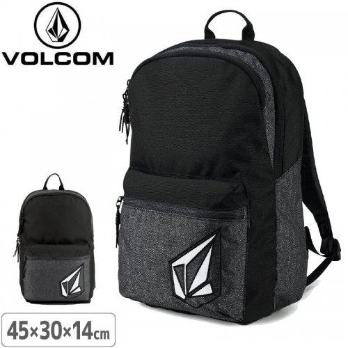 【ボルコム VOLCOM リュック バックパック】VOLCOM ACADEMY BACKPACK【ブラック】NO46