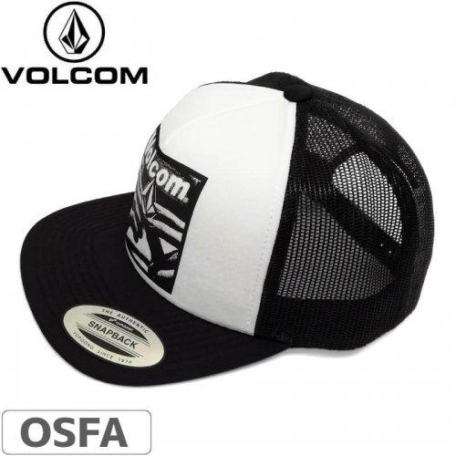 【ボルコム VOLCOM キャップ】LIBERATE HAT【ホワイト×ブラック】NO70